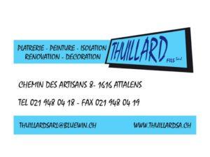 Thuillard Fils Platrerie Peinture Isolation Rénovation Décoration